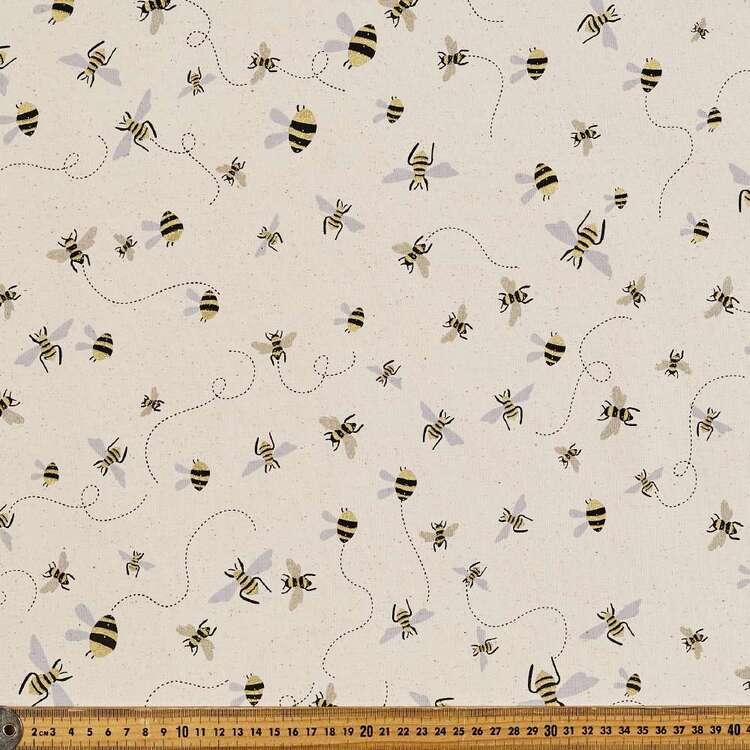 Buzzy Printed 112 cm Buzoku Cotton Duck Fabric