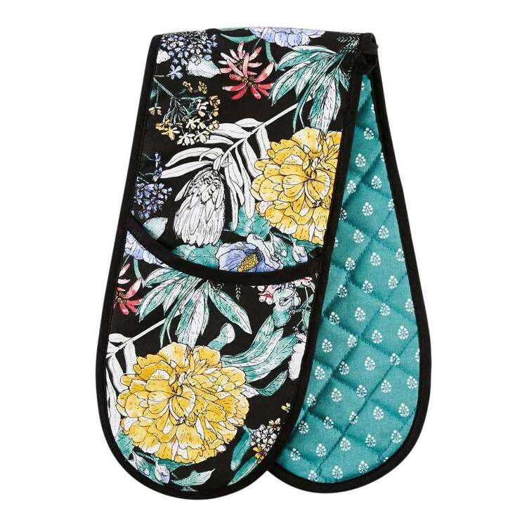 Kitchen by Ladelle Flora Meadow Double Oven Glove