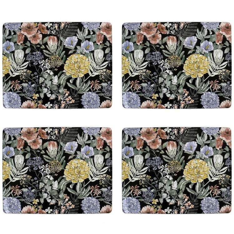 Dine By Ladelle Flora Meadow Placemat 4 Pack