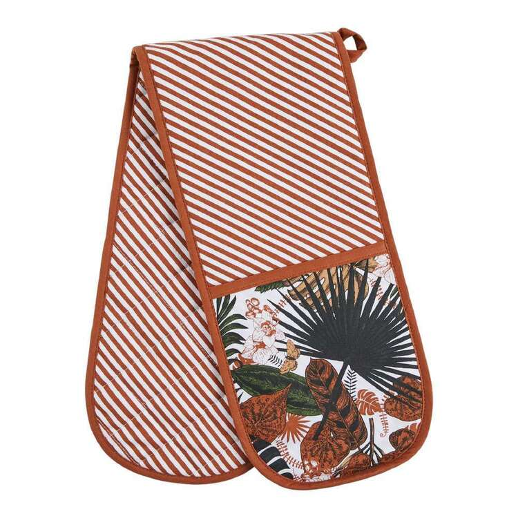 Dine By Ladelle Rainforest Double Oven Mitt