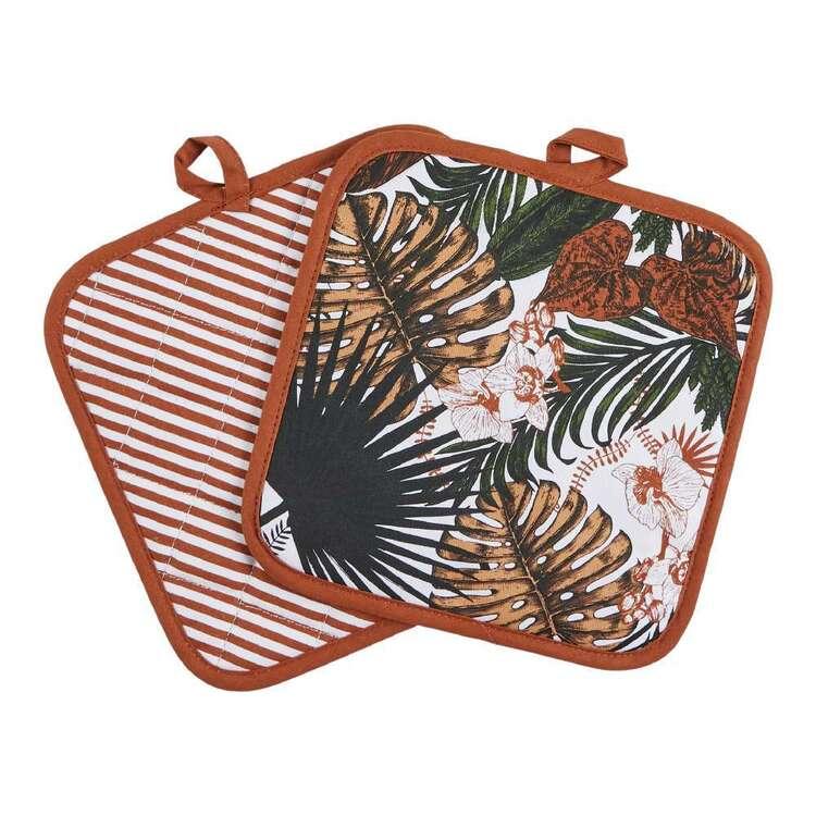 Kitchen By Ladelle Rainforest Pot Holder 2 Pack