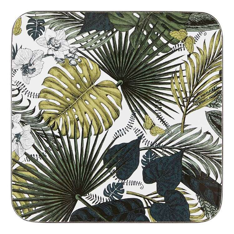 Dine By Ladelle Rainforest 4 Pack Coaster