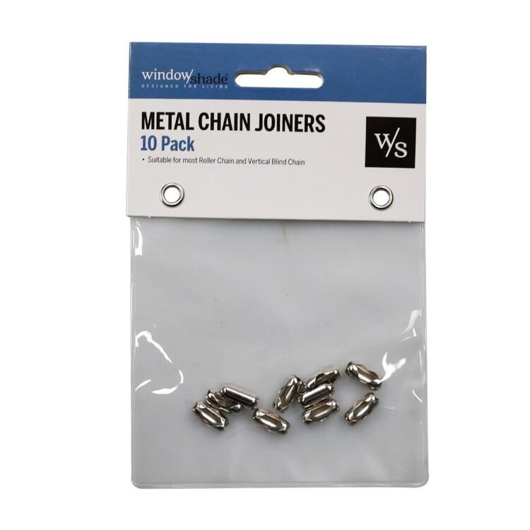 Windowshade 10 Pack Metal Chain Joiners