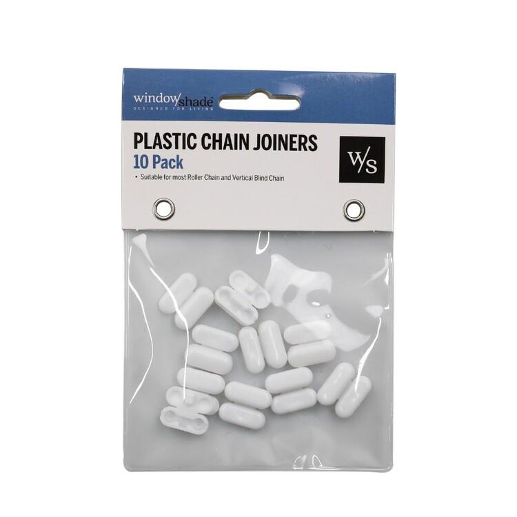 Windowshade 10 Pack Plastic Chain Joiners