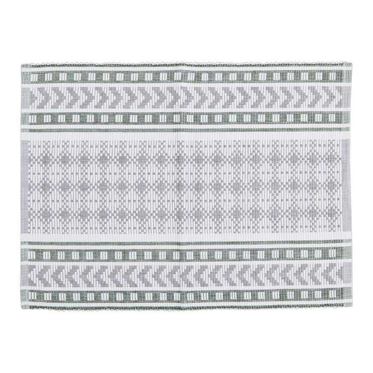 Dine By Ladelle Mellie Ribbed Placemat