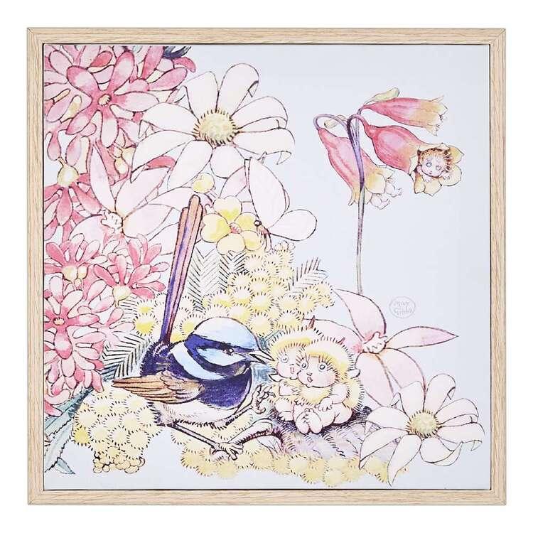 May Gibbs Kookaburra Framed Print
