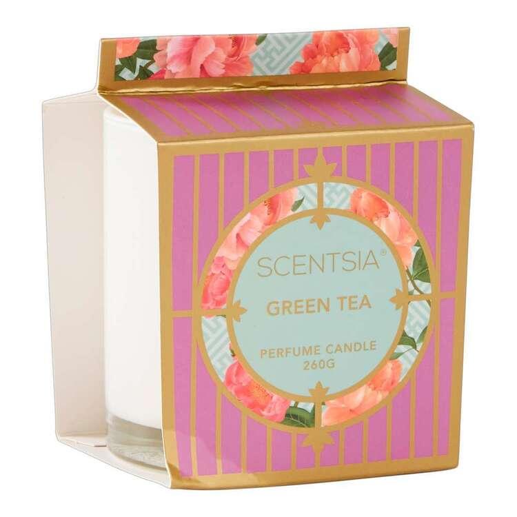Scentsia Oriental Fusion Green Tea Scented Candle Jar