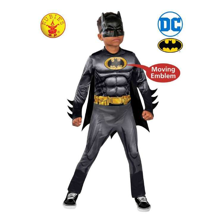 DC Comics Luxe Batman Kids Muscle Costume