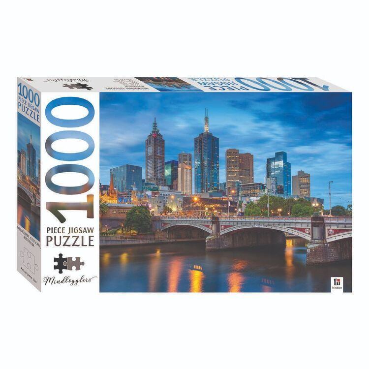 Mindbogglers Melbourne 1000 Pieces Jigsaw Puzzle