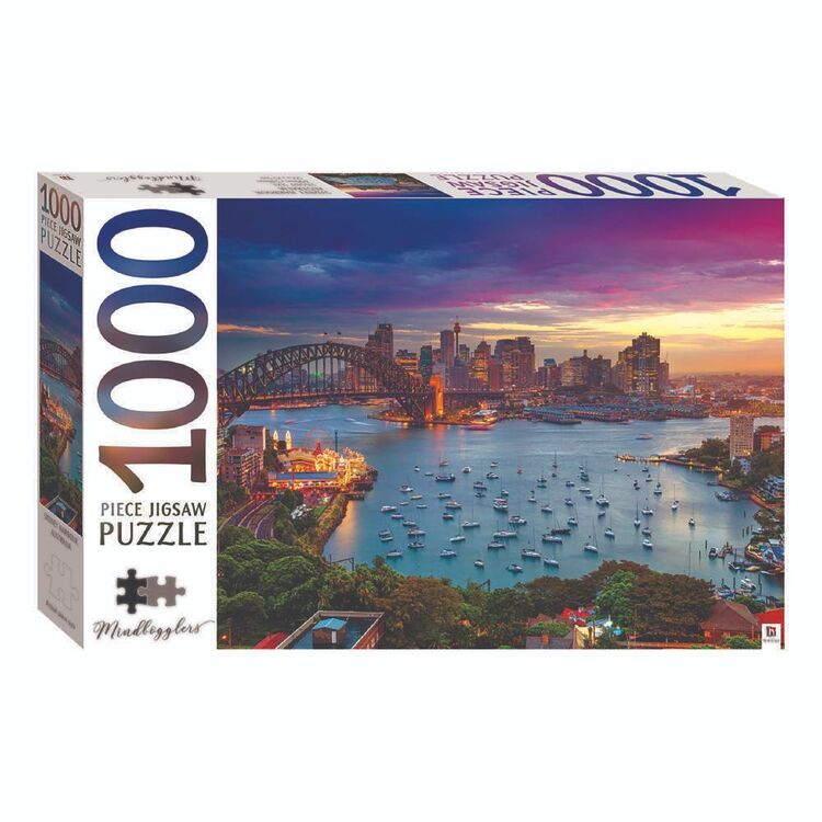 Mindbogglers Sydney Harbour 1000 Pieces Jigsaw Puzzle