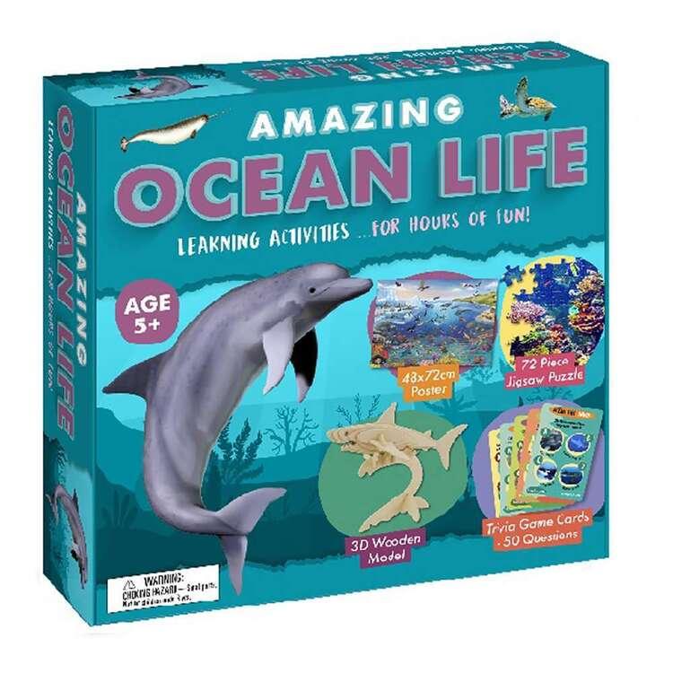 Amazing Ocean Life Activity Set