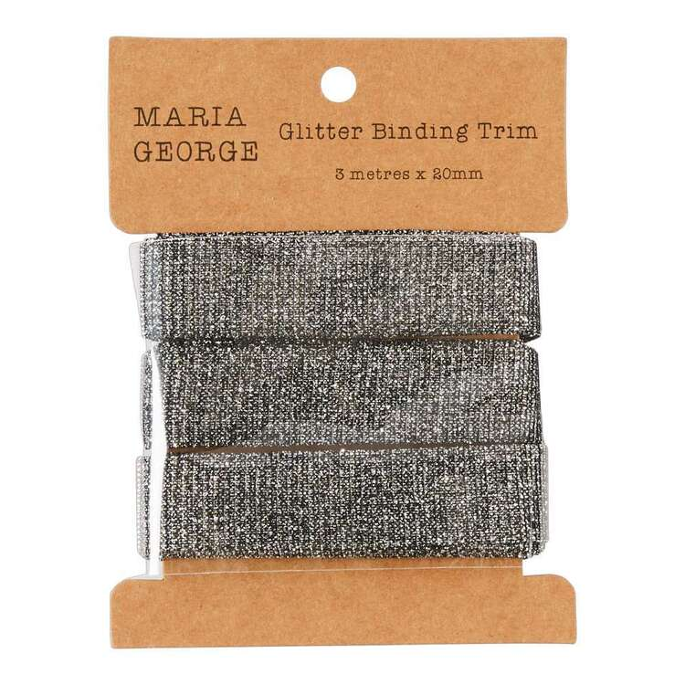 Maria George Glitter Binding Trim