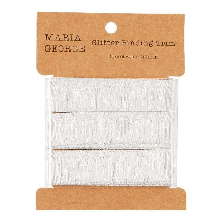 Maria George Glitter Stripe Binding Trim