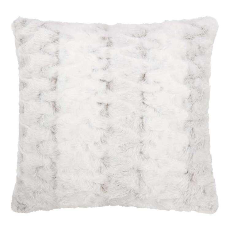 Bouclair Fur Statement Hare Cushion