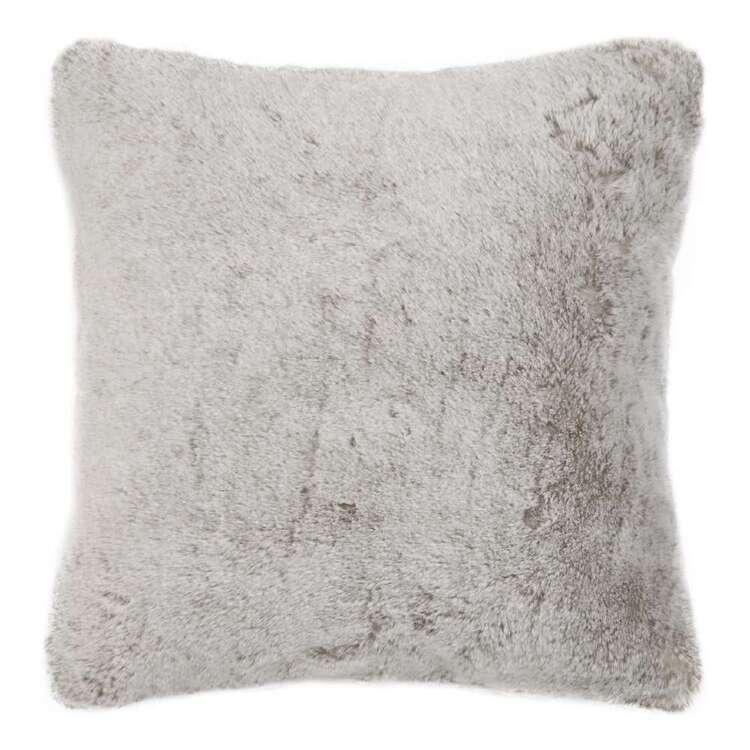 Bouclair Fur Statement Fox Cushion