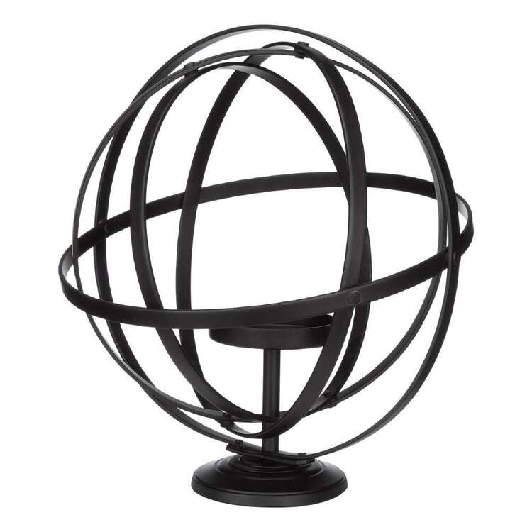 Bouclair Fur Statement Spherical Candle Holder