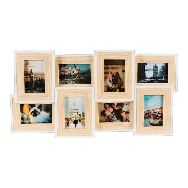 Living Space 8 Photos Collage Frame