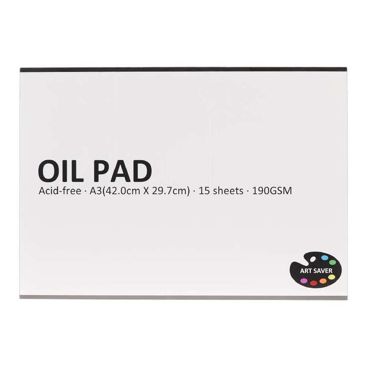 Art Saver A3 190 gsm 15 Sheet Oil Pad