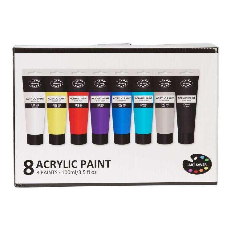 Art Saver 8 Pack Acrylic Paint Set