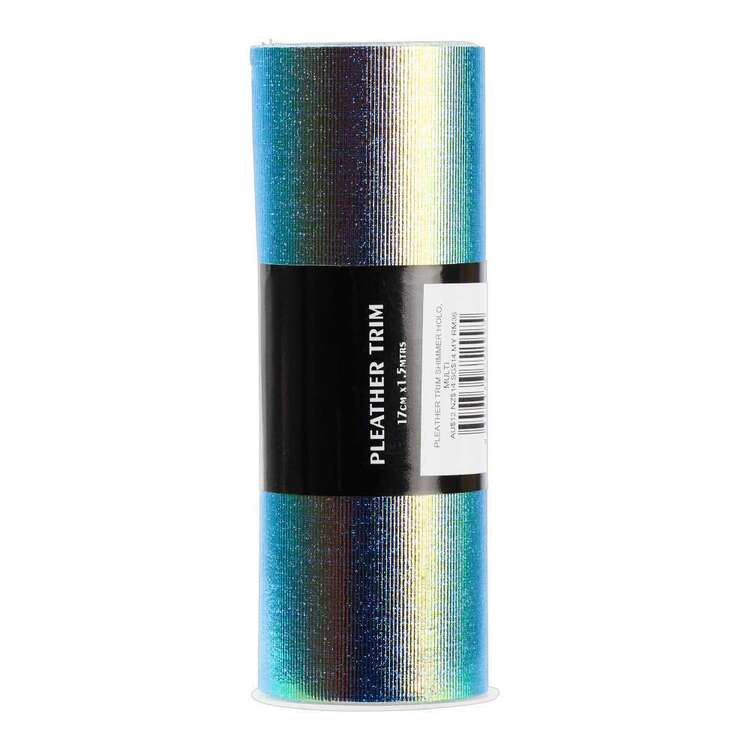 Shimmer Holographic Pleather Trim