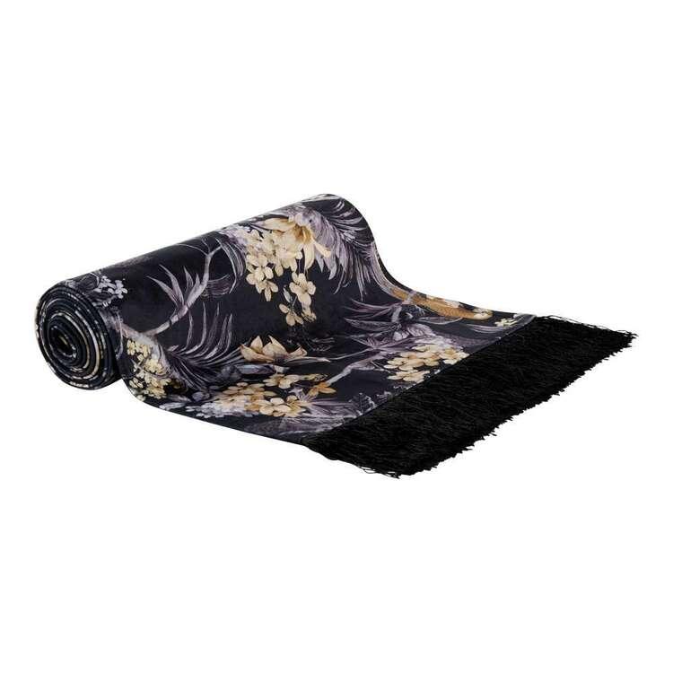 Koo Zena Printed Velvet Table Runner
