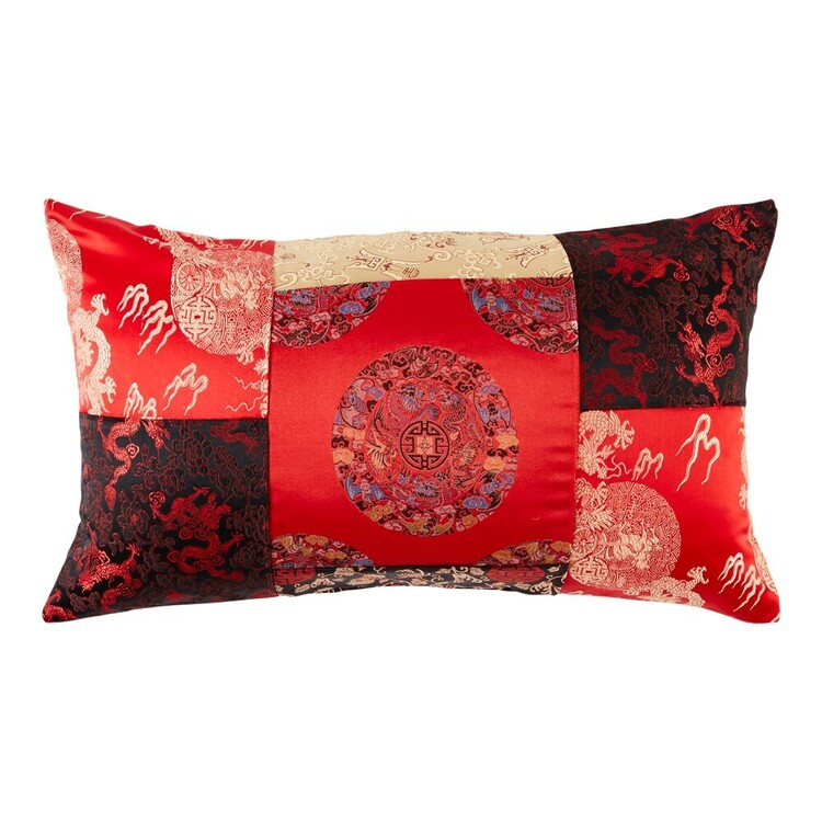 Koo Elite Ming 35 x 60 cm Patchwork Cushion