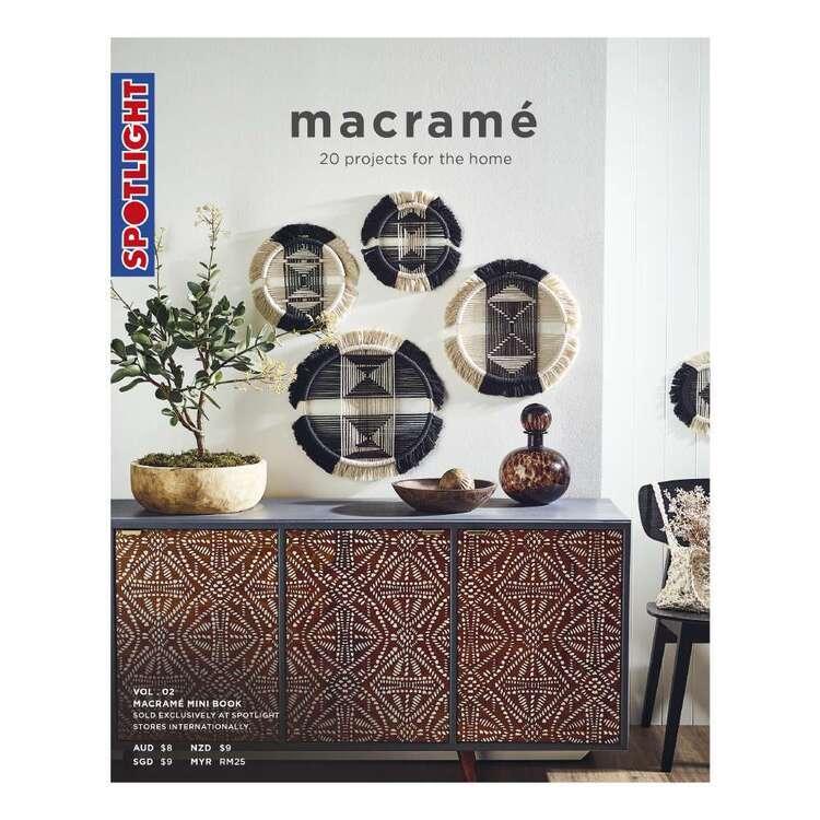 Spotlight Mini Macrame Maker Volume 2 Book