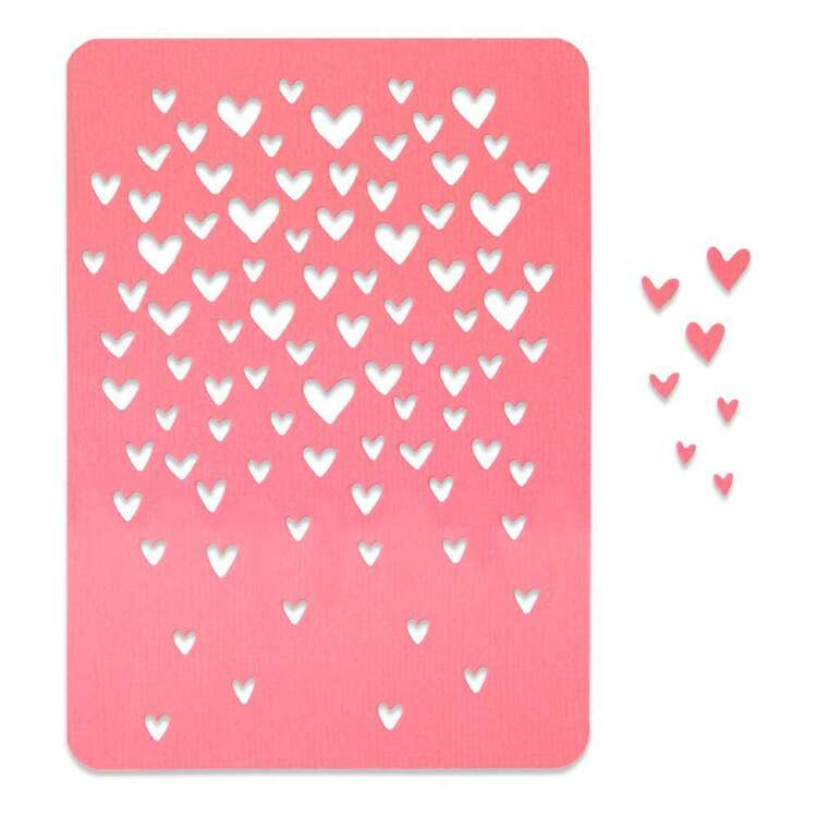 Sizzix Thinlits By Olivia Roge Drifiting Hearts Die Pack