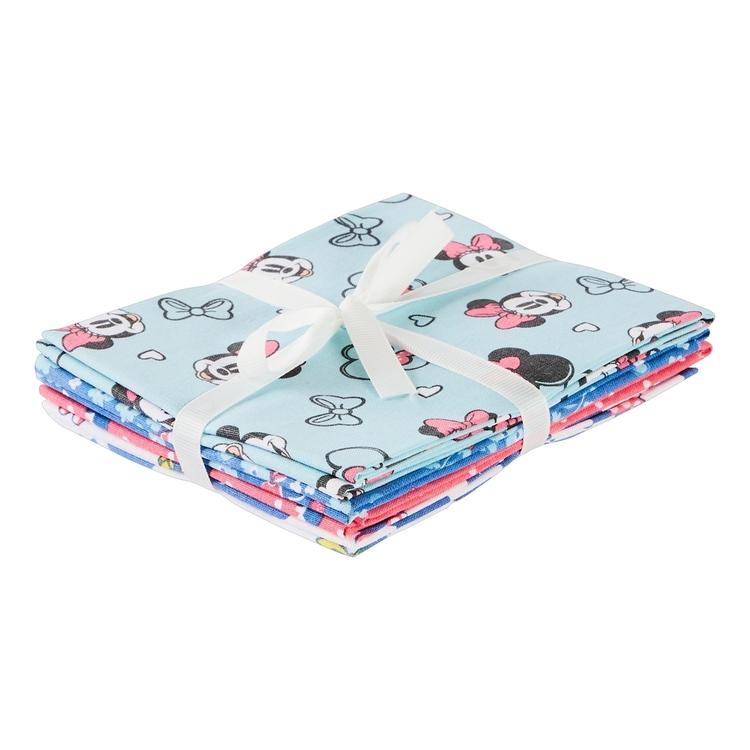 Disney Minnie Mouse Fat Quarter Bundle 4 Piece