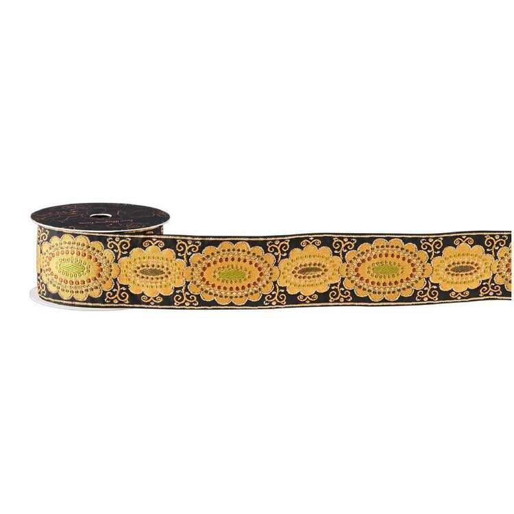 Maria George Luxe Illusions Golden Cameo Braid