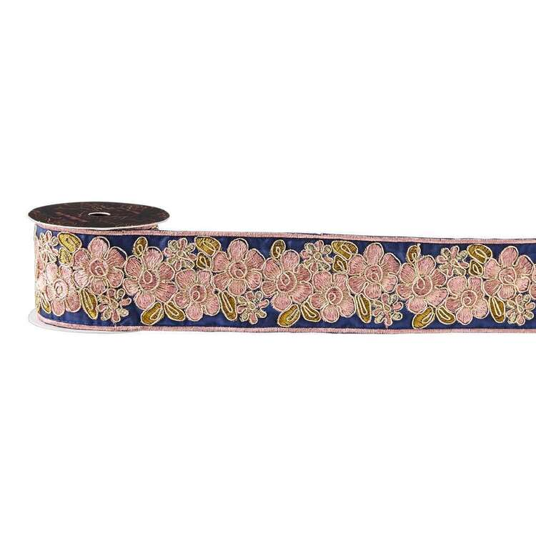 Maria George Luxe Illusions Luxe Embroidered Floral Band