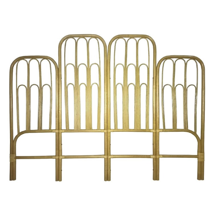 Ombre Home Bloom Fields Rattan-Style King Bedhead