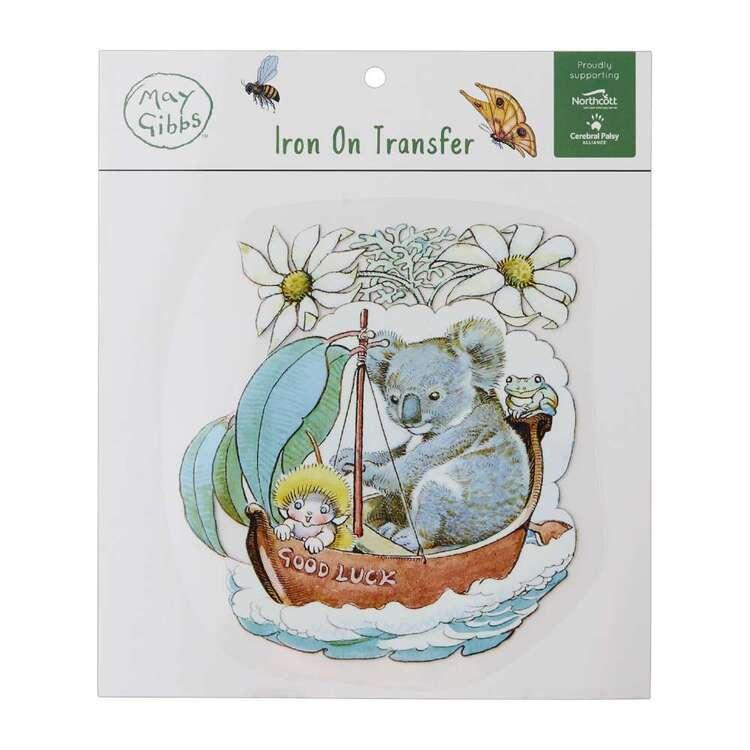 May Gibbs Koala Adventure Iron On Transfer