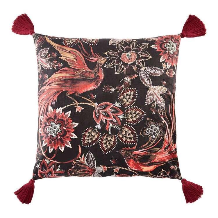 Koo Printed Velvet Cushion