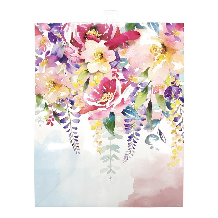 Party Creator Mother's Day Pink Floral Gift Bag