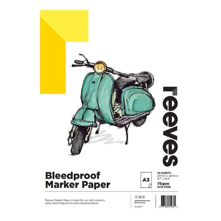 Reeves A3 Bleedproof Paper Pad