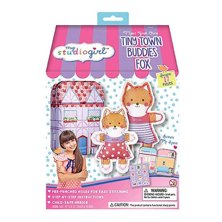 My Studio Girl Tiny Town Buddies Fox Sew Kit