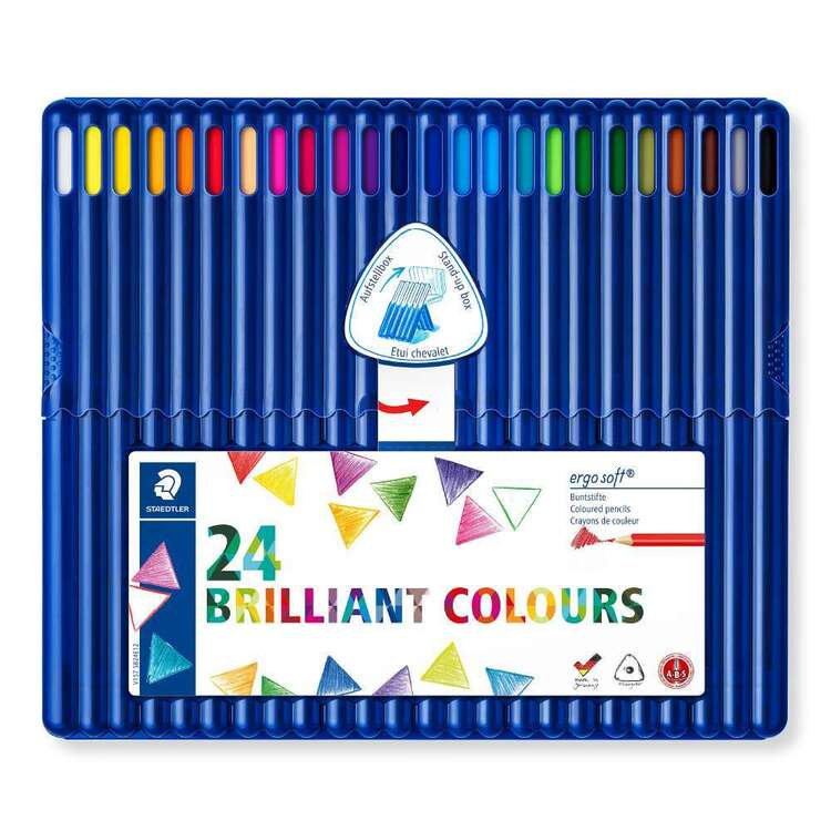 Staedtler Erosoft Coloured Pencil 24 Pack
