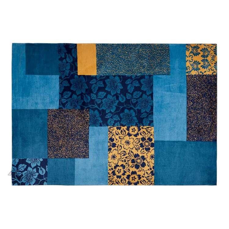 Koo Patchwork Jacquard Polyester Rug