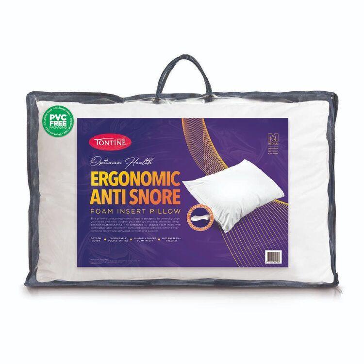 Tontine Ergonomic Anti Snore Pillow