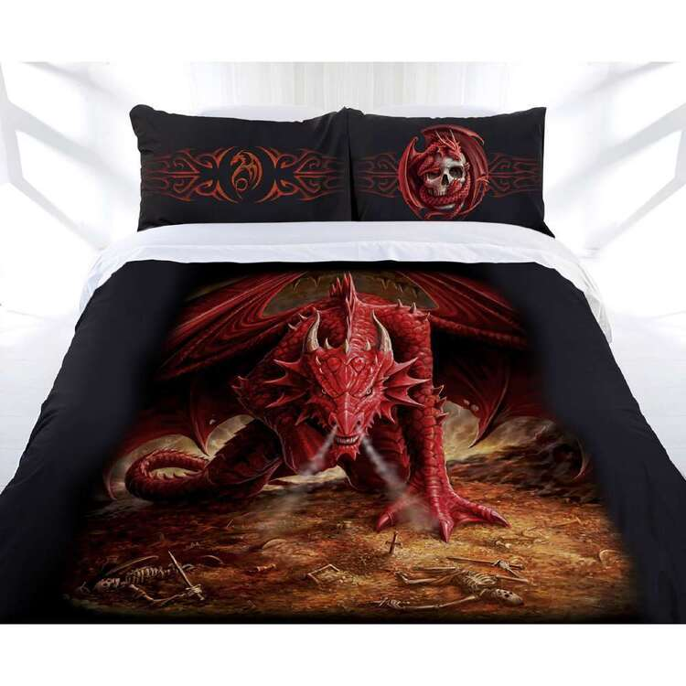 Anne Stokes Dragons Lair Quilt Cover Set