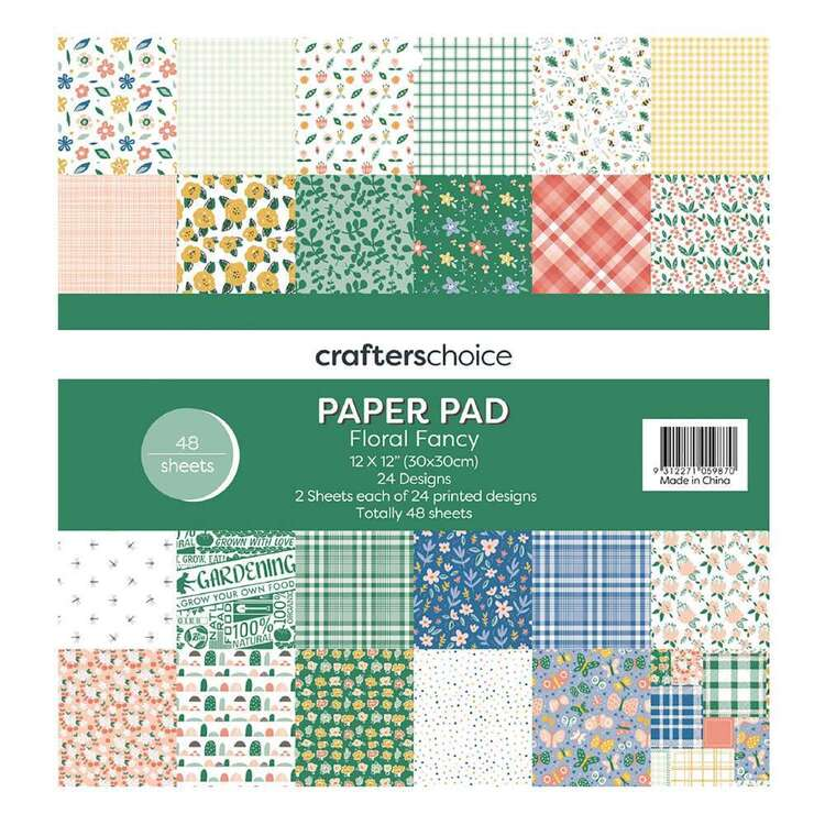 Crafters Choice Floral Fancy Paper Pad