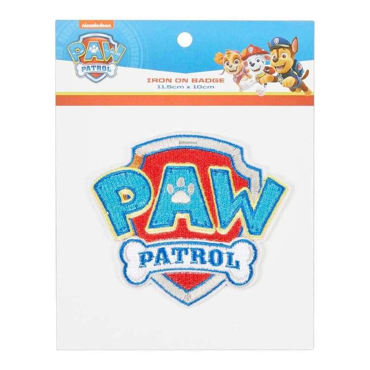 Paw Patrol Rocky Badge Iron On Motif