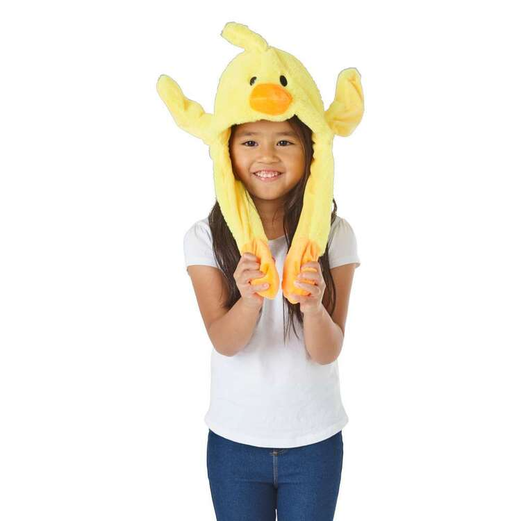 Party Creator Yellow Chick Moving Ears Hat