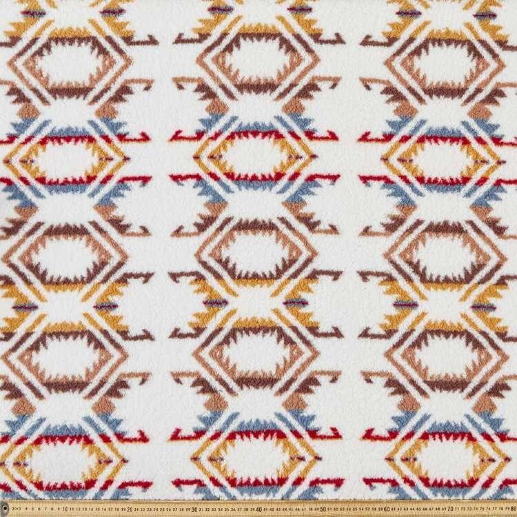 Navaho Printed 145 cm Faux Fur Sherpa Fabric