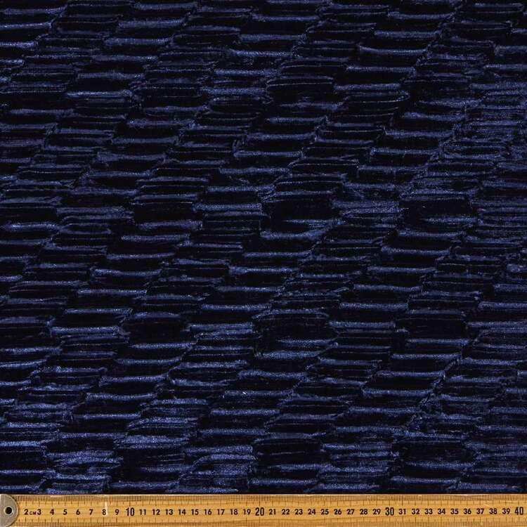 Plain 145 cm Textured Velvet Fabric