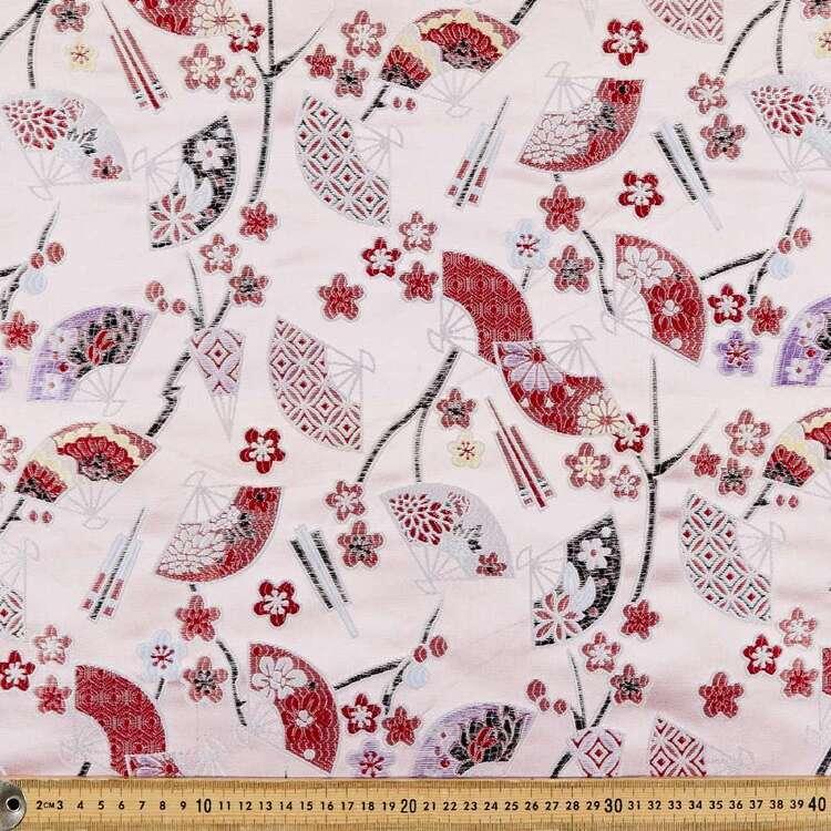 Orient Fusion Printed 145 cm Nylon Polyester Brocade Fabric