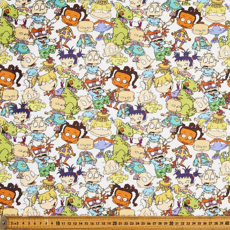 Nickelodeon Rugrats All Characters Cotton Fabric