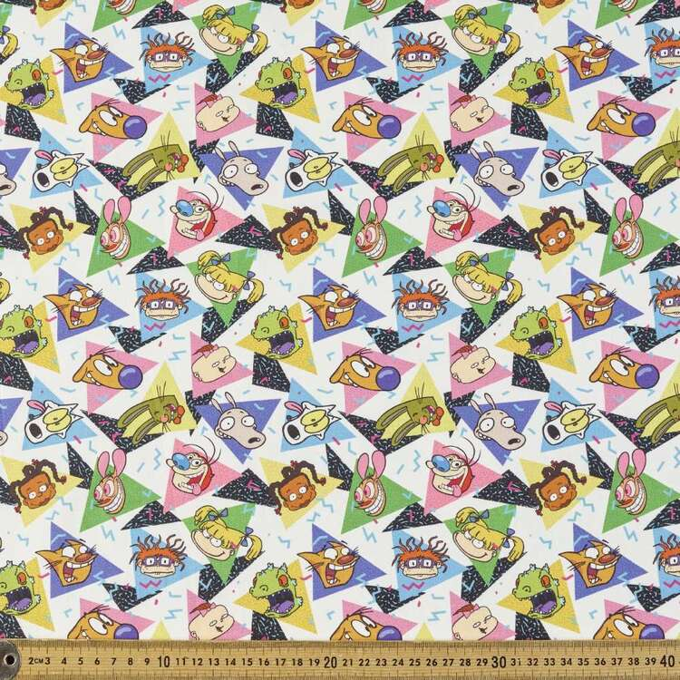 Nickelodeon Nostalgia Cotton Fabric