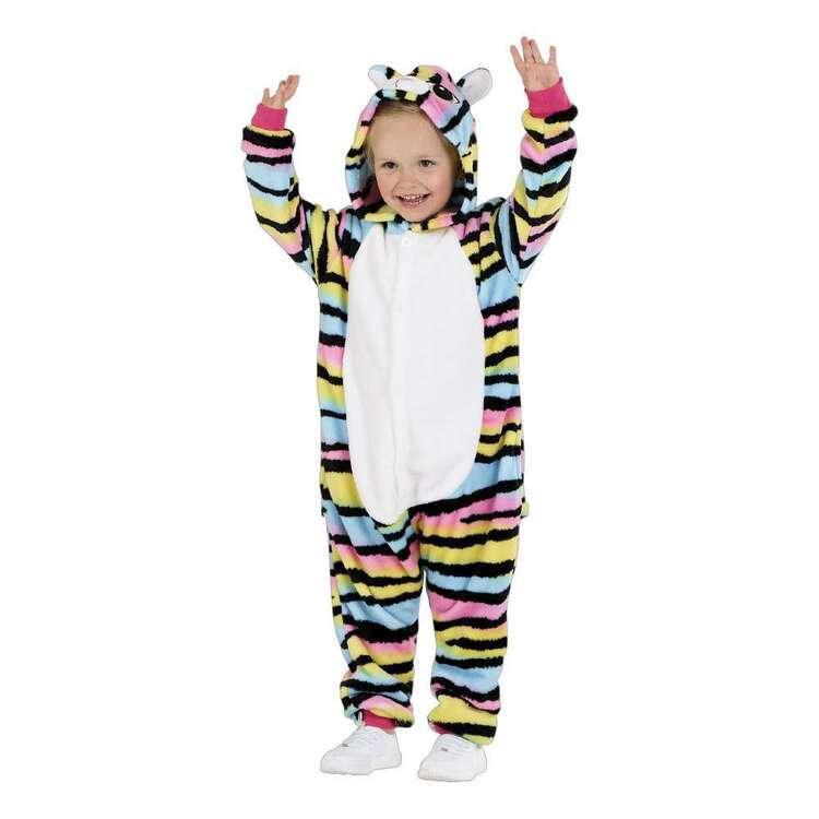 Spartys Rainbow Cat Plush Kids Onesie